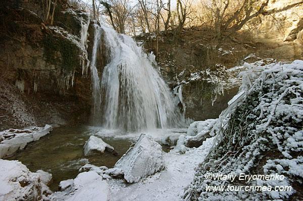 Зимняя поездка на Южный берег Крыма и водопад Джур-Джур - фоторепортаж