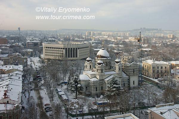 Сказка крымской зимы 2011 в Симферополе