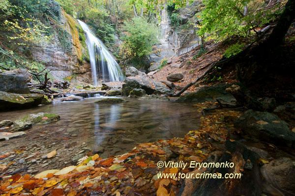 Волшебство крымской осени на водопаде Джур и в ущелье Хапхал –фоторепортаж