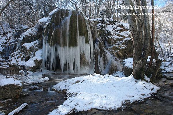 Поездка к ледопаду «Серебряные струи»  25 февраля 2007г.