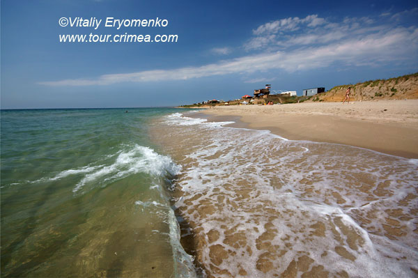 Беляус –край крымского пляжного рая.