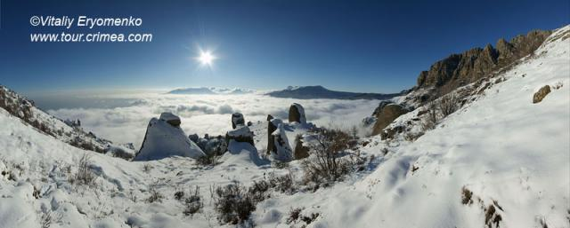 Фантастически красивая зима 2011 на горе Демерджи – фоторепортаж