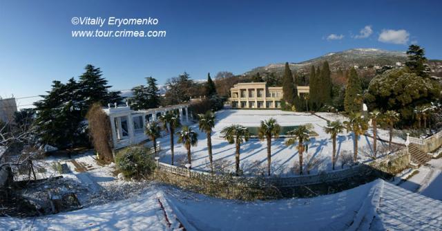 Зима в Никитском ботаническом саду и на водопаде Учан-Су - фоторепортаж